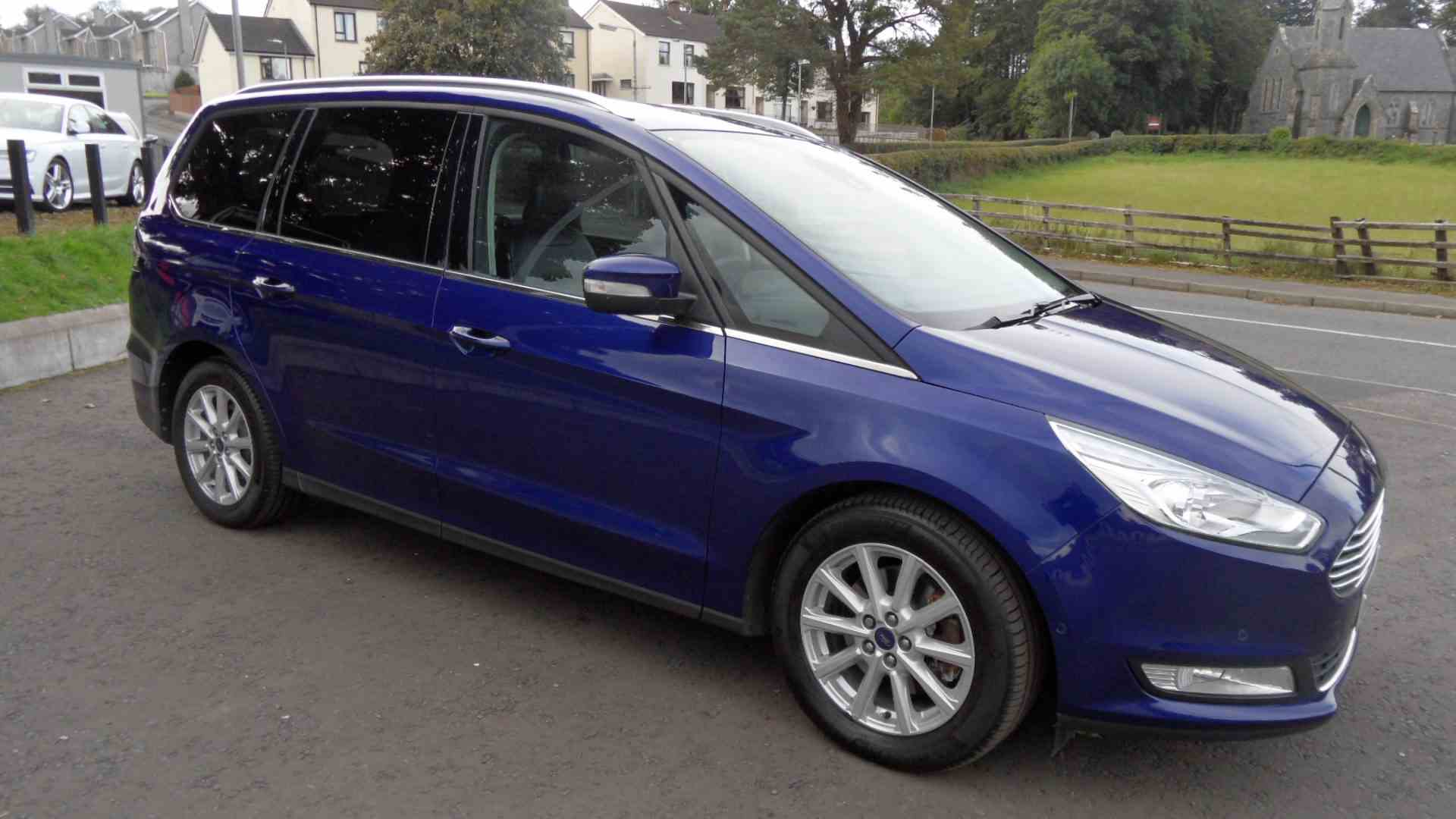 Ford Galaxy Titanium X in Deep Impact Blue, lovely miles, lovely specification, Call Sean on 07970936458 or 02879401371 to arrange a test drive and for a keen finance quote from Northridge, Motonovo or Santander consumer Finance