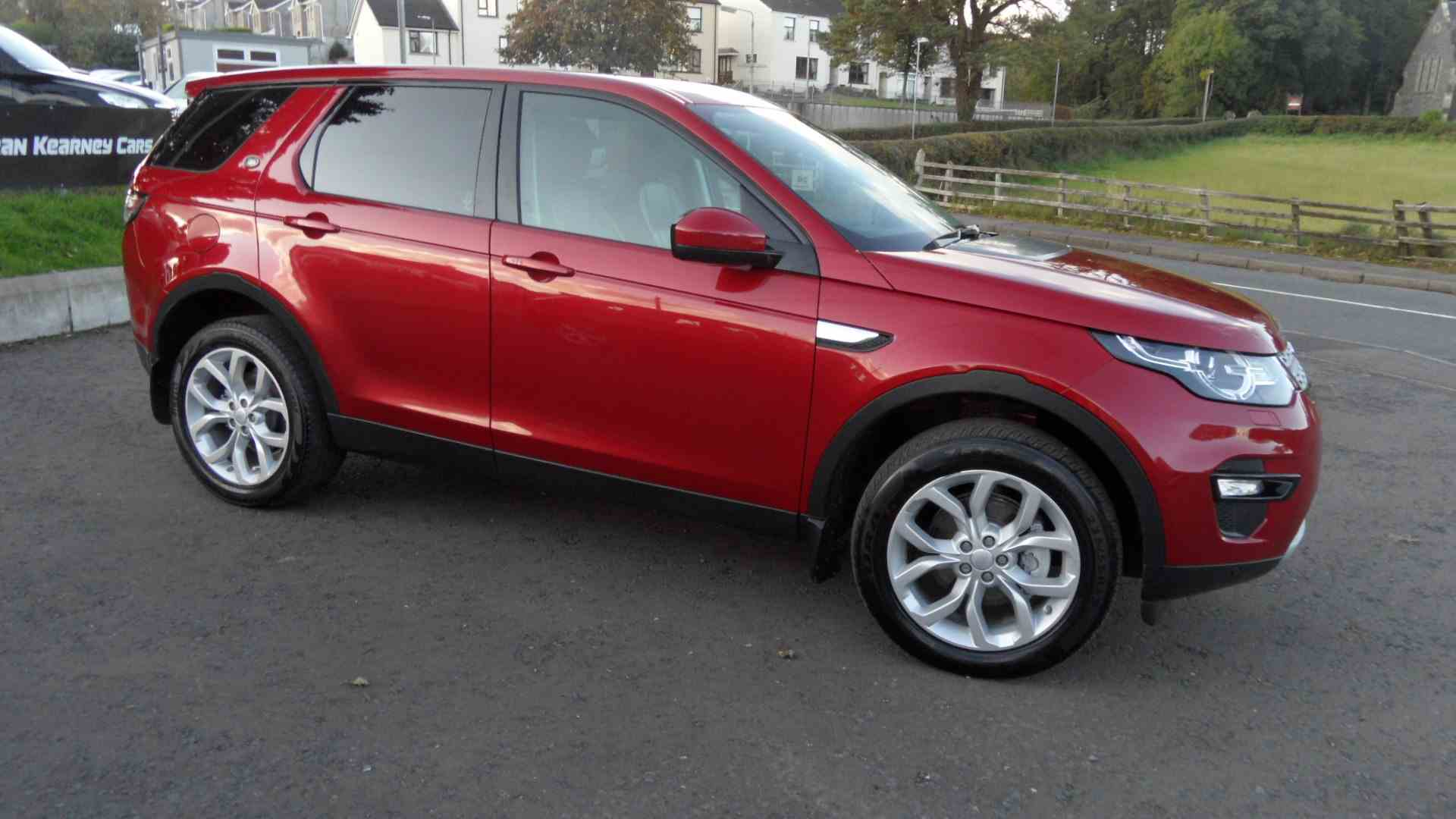 Sold locally by ourselves last year, due to be cleaned Monday, beatiful 7 Seater HSE Discovery Sport in Firenze Red, call Sean on 07970936458 or 02879401371 to arrange a test drive and get a keen finance quote from our partners Northridge, Santander Consumer Finance, Motonovo