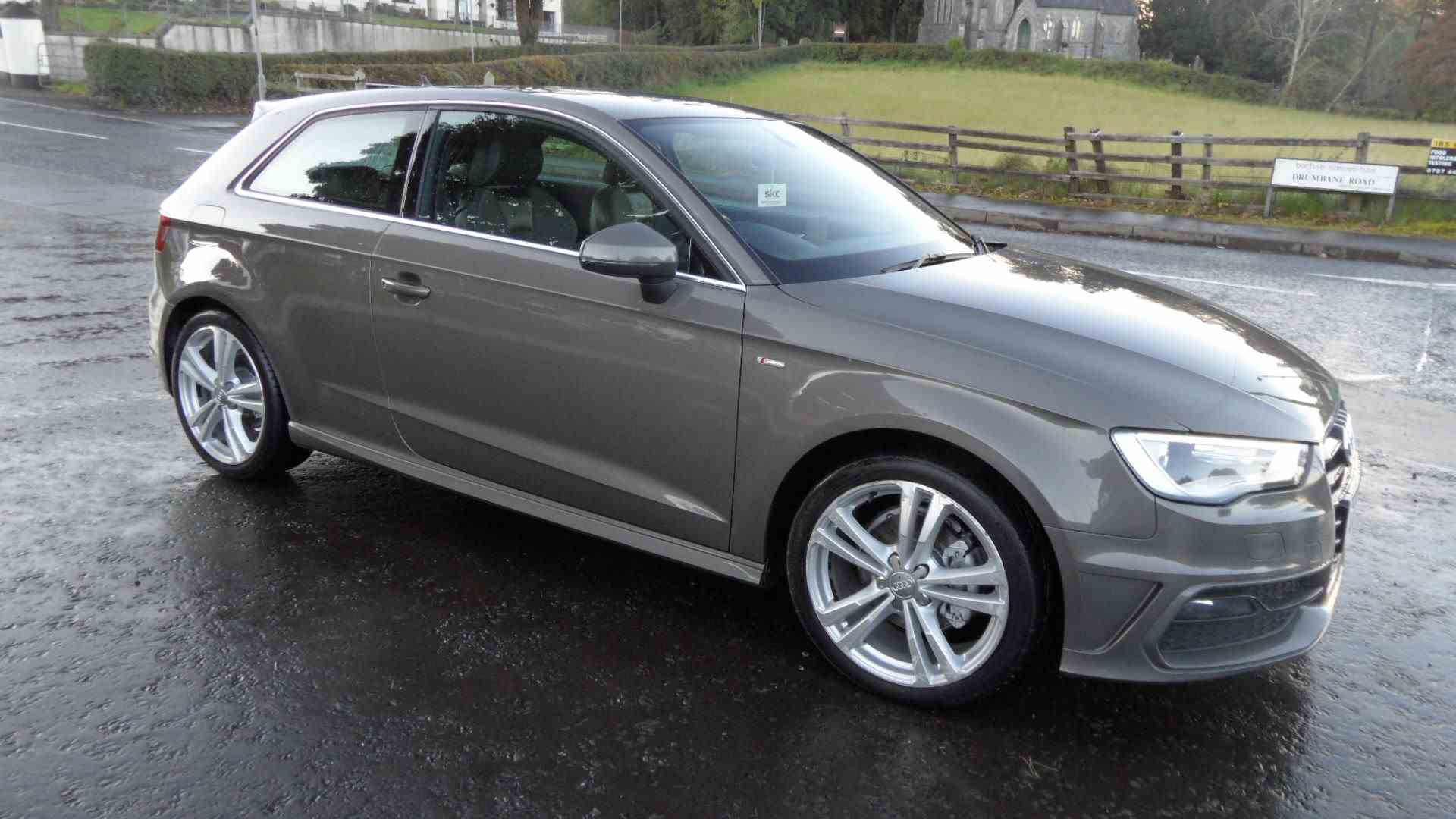 Sought after A3 SLine Auto 3door, getting wheel refurb this week, call Sean on 07970936458 or 02879401371 for more information and to arrange a test drive. Keen finance available with Northridge, Santander Consumer Finance or Motonovo